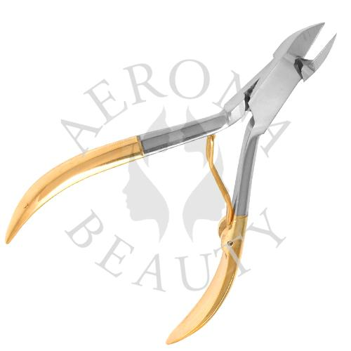Gold Plated Cuticle Nipper