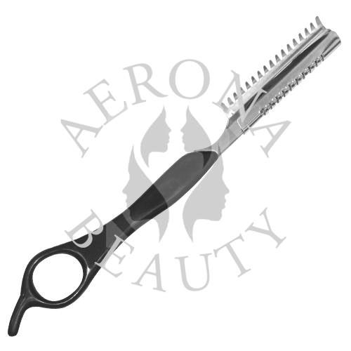 Feather Styling Razor Black Handle