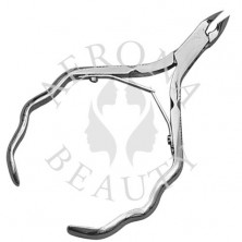 Cuticle Nipper with Curled Handle