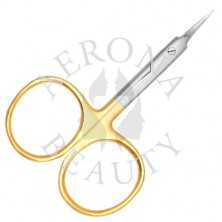 Cuticle Scissors Gold Plated