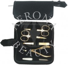 Manicure Kit Gold Plated